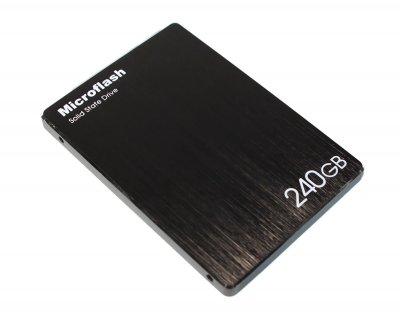 Твердотільний накопичувач 240Gb Microflash 450 Series SATA3 2.5' MLC 468/202 MB/s