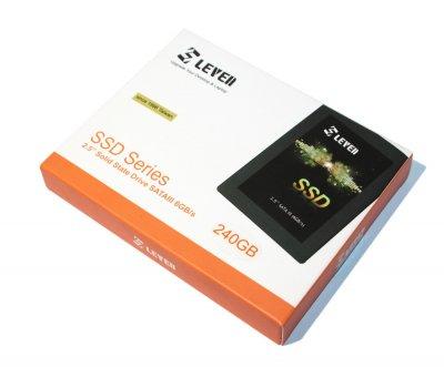 Твердотільний накопичувач 240Gb Leven JS500 SATA3 2.5' MLC 560/270 MB/s JS500SSD240GB