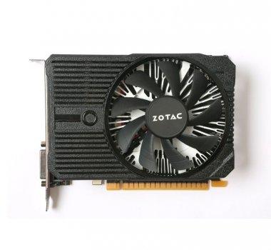Видеокарта GeForce GTX1050Ti Zotac Mini 4Gb DDR5 128bit DVI/HDMI/DP 1417/7000 MHz ZTP10510A10L