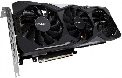 Відеокарта GeForce RTX 2080 OC Gigabyte GAMING OC 8Gb DDR6 256bit HDMI/3xDP/USB TypeC 1830/14000 MHz 6 pin + 8pin RGB Fusion