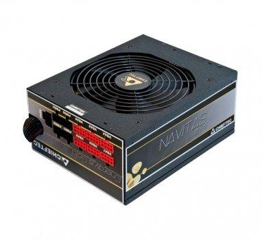 Блок питания Chieftec 1250W GPM1250C 140mm ATX 2.3+EPS12V APFC 24+2*4+8+8*6/8pcie 1*14см 80+GOLD кабеля модульные