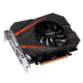 Відеокарта GeForce GTX1080 Gigabyte Mini ITX 8Gb DDR5X 256bit DVI/HDMI/3xDP 1771/10010 MHz 8pin GVN1080IX8GD
