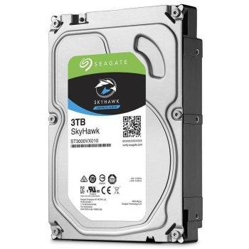 Жорсткий диск 3.5' 3Tb Seagate SkyHawk Surveillance SATA3 64Mb 5900 rpm ST3000VX010