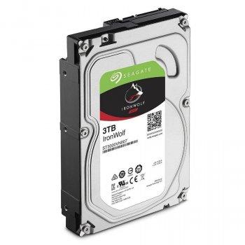 Жорсткий диск 3.5' 3Tb Seagate IronWolf SATA3 64Mb 5900 rpm ST3000VN007 Ref