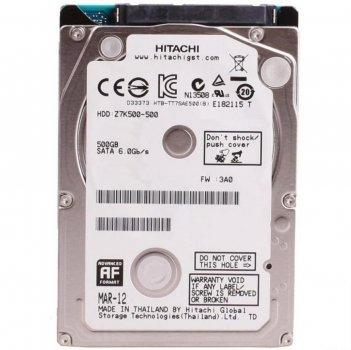 Жорсткий диск 2.5' 500Gb Hitachi (HGST) Travelstar Z5K500, SATA2, 8Mb, 5400 rpm (0J38065 / HTS545050A7E680)