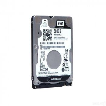 Жорсткий диск 2.5' 500Gb Western Digital Black SATA3 32Mb 7200 rpm WD5000LPLX Ref