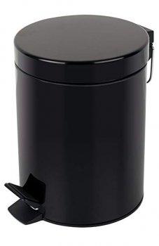 Відро для сміття SPIRELLA Sidney 20х27 см з педаллю чорне (10.16394)