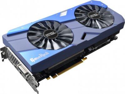 Palit PCI-Ex GeForce GTX 1080 Ti GameRock Premium Edition 11GB GDDR5X (352bit) (1556/11000) (DVI, HDMI, 3 x DisplayPort) (NEB108TH15LC-1020G)