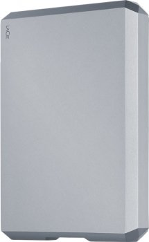 Жорсткий диск LaCie Mobile Drive 2TB STHG2000400 2.5 USB-C Moon Silver