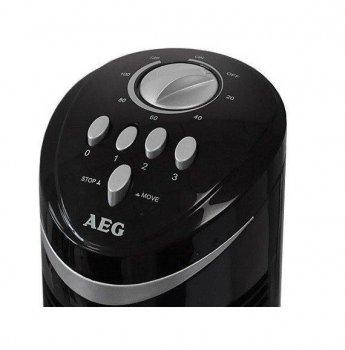 Вентилятор колона AEG T-VL 5531 (75 см) Німеччина Чорний