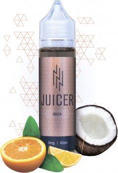 Рідина для електронних сигарет Juicer Ibiza 3 мг 60 мл (Цитрус + кокос) (JU-IB-60-3)