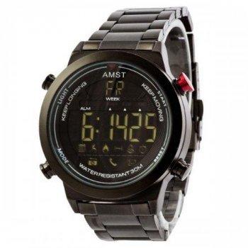 Чоловічі годинники AMST 3017 Metall All Black