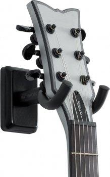 Настінне кріплення для гітари Gator Frameworks Black Wall Mount Guitar Hanger (gfw-hngr-blk)