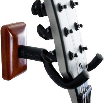 Настінне кріплення для гітари Gator Frameworks Mahogany Wall Mount Guitar Hanger (gfw-hngr-mhg)