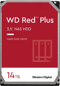 "Жесткий диск Western Digital Red Plus NAS 14TB 5400rpm 512MB WD140EFFX 3.5"" SATA III"