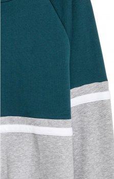 Свитшот H&M 1501-5723258 Зелено-серый