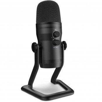 Мікрофон Fifine K690 з налаштуванням направленності Чорний (136-1)