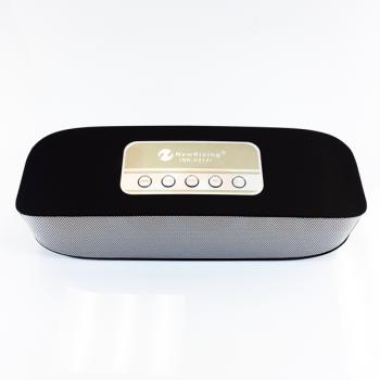 Бездротова акумуляторна Bluetooth колонка акустика New Rixing NR-2014 Original Black