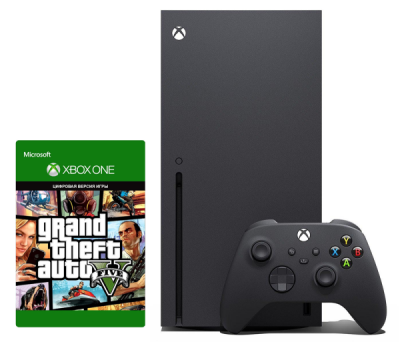 Xbox Series X 1Tb + GTA V: Grand Theft Auto 5