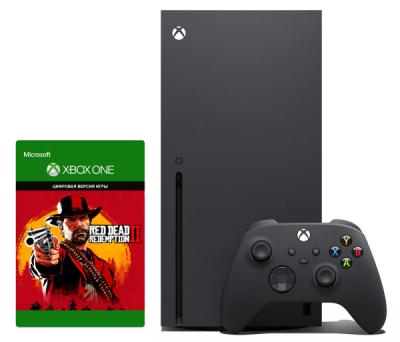 Xbox Series X 1Tb + Red Dead Redemption 2