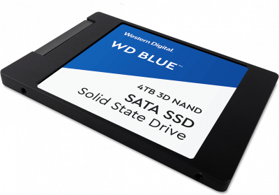 """Western Digital Blue SSD 4TB 2.5"""" SATAIII 3D NAND (WDS400T2B0A)"""