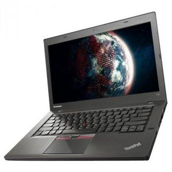 Ноутбук Lenovo ThinkPad T450-Intel Core i5-5300U-2,30GHz-4Gb-DDR3-180Gb-SSD-W14-Web-батерея -(B)- Б/В