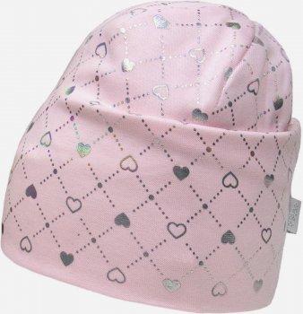 Демисезонная шапка David's Star 2136 50 см Розовая (ROZ6400049498)
