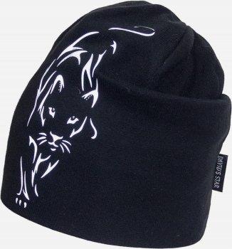 Демисезонная шапка David's Star 2120 50 см Черная (ROZ6400049512)