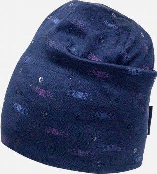 Демисезонная шапка David's Star 2122 54 см Синяя (ROZ6400049523)