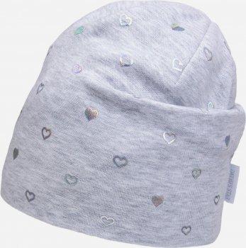 Демисезонная шапка David's Star 2126 52 см Серая (ROZ6400049527)