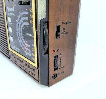 Радиоприёмник аккумуляторный GOLON RX-9933UAR