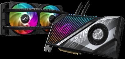 Asus PCI-Ex Radeon RX 6900 XT ROG Strix LC 16GB GDDR6 (256bit) (2365/16000) (HDMI, 2 x DisplayPort, USB Type-C) (ROG-STRIX-LC-RX6900XT-O16G-GAMING)