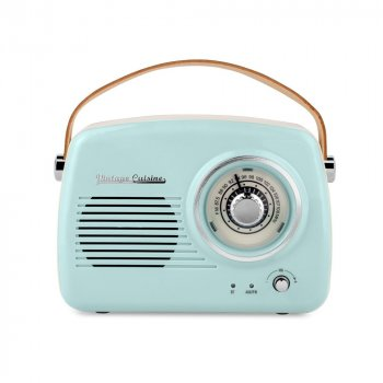 Радіоприймач Vintage Cuisine Retro з Bluetooth М'ятний