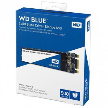 SSD накопичувач M. 2 SATA (2280) 500GB WD Blue (WDS500G2B0B)