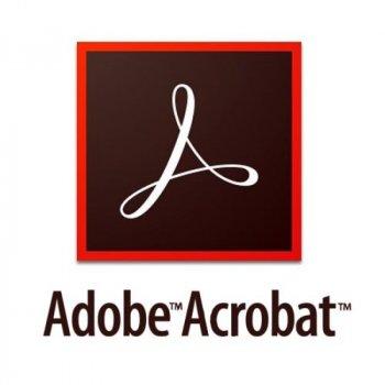 Acrobat Standard DC for enterprise. Ліцензії для комерційних організацій, річна передплата (VIP Select передплата на 3 роки) на одного користувача в межах замовлення від 10 до 49 (65271329BA12A12)