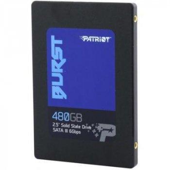 """Накопичувач SSD 2.5"""" 480GB Patriot (PBU480GS25SSDR)"""