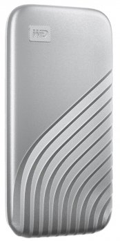 Western Digital My Passport 1TB USB 3.2 Type-C Silver (WDBAGF0010BSL-WESN) External
