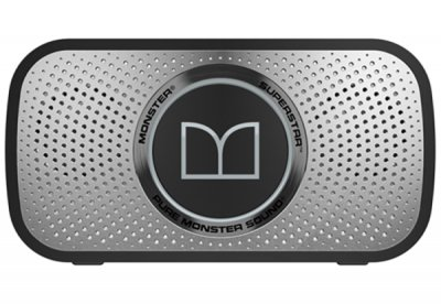 Акустична система Monster Superstar High Definition Bluetooth Speaker Grey (MNS-129260-00)