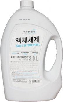 Жидкое средство для стирки Mukunghwa Liquid Laundry Detergent for Both Use Лаборатория чистоты 3 л (8801173603225)