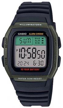 Чоловічий годинник Casio W-96H-3AVEF