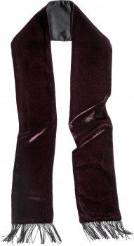 Шарф H&M 583355RP12 150х12 см Темно-бордовый с блестками (PS2030000037346)