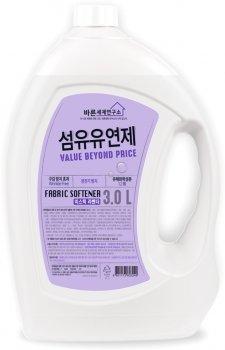 Кондиционер смягчающий для белья Mukunghwa Fabric Softener Mystic Lavender Мистическая Лаванда 3 л (8801173603249)