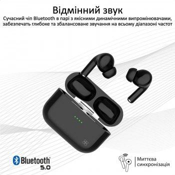 TWS-навушники Promate Harmoni Bluetooth 5 Black (harmoni.Black)