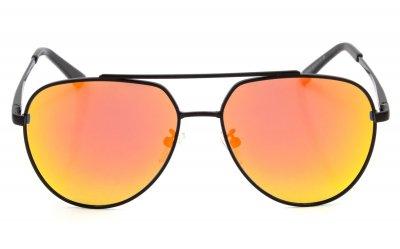 Солнцезащитные очки мужские поляризационные SumWin 201936 Желто-оранжевое зеркало