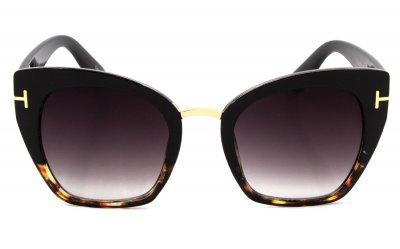 Солнцезащитные очки женские SumWin 97356-11 Черный градиент