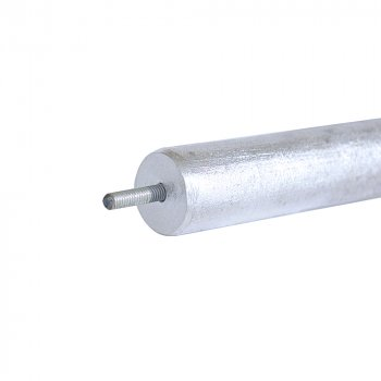 Анод магниевый, диаметр 20мм, длина 200мм, с резьбой М5 и короткой шпилькой