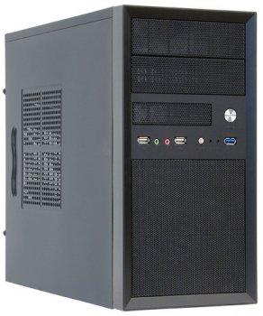 Корпус CHIEFTEC Mesh CT-01B,с БП CHIEFTEC iArena GPA-500S8 500Вт,1xUSB3.0,mATX,черный (JN63CT-01B-500S8)