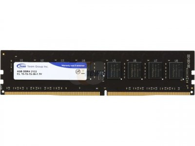 Модуль памяти DDR4 4GB/2133 Team Elite (TED44G2133C1501)
