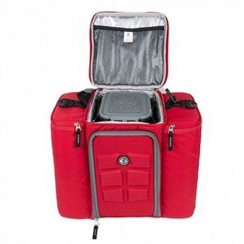 Термосумка 6 Pack Fitness Innovator Insulated Meal Management Bag 500 (5 судків) Червоний