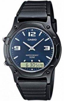 Чоловічий годинник Casio AW-49HE-2AVEF